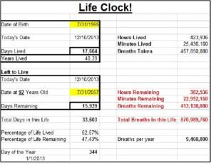 Life Clock pic